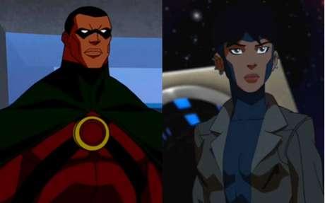 Os heróis Ícone e Foguete tiveram participações na animação 'Justiça Jovem'