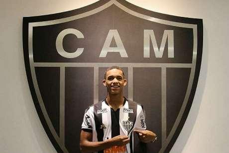 Borrero chegou no início do ano e era tido como um jogador de futuro promissor na equipe mineira-(Divulgação/Atlético-MG)