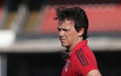 São Paulo, de Fernando Diniz, vai em busca da liderança do Grupo D da Libertadores (Foto: Rubens Chiri/São Paulo)