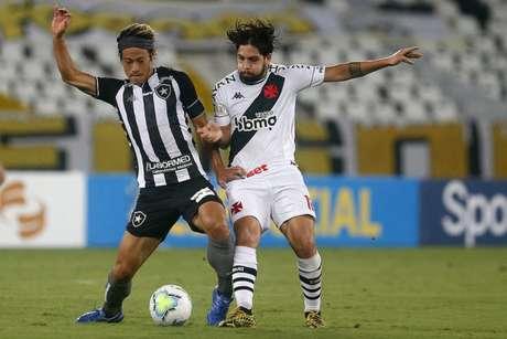 Honda foi substituído ainda no primeiro tempo no clássico contra o Vasco - (Vítor Silva/Botafogo)
