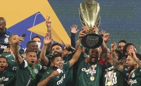 Verdão conquistou o seu 23º título paulista no mês passado (Foto: Cesar Greco/Palmeiras)
