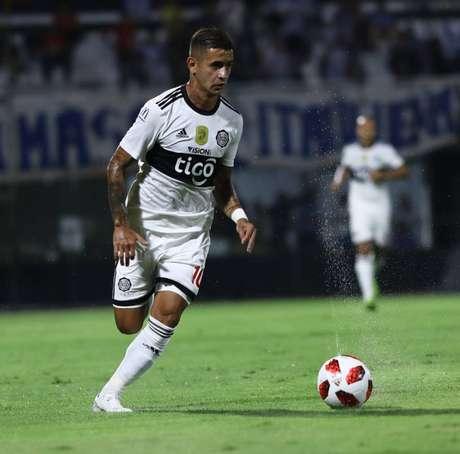 Derlis González, ex-Santos (Foto: Divulgação/Olimpia)
