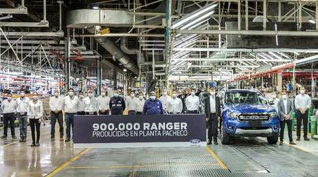 Ford Ranger: 900 mil unidades produzidas na fábrica de Pacheco, sendo 340 mil só para o Brasil.