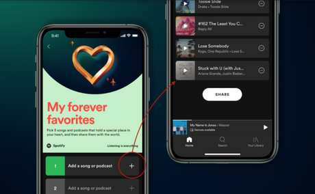 My Forever Favorites Spotify App