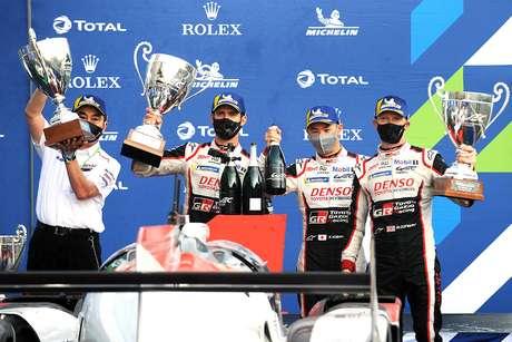 A Toyota vai forte para Le Mans, mas agora com concorrência real
