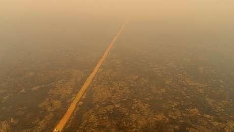 O fogo já destruiu uma área de 2,3 milhões de hectares no Pantanal — pouco mais que o território do Estado de Sergipe