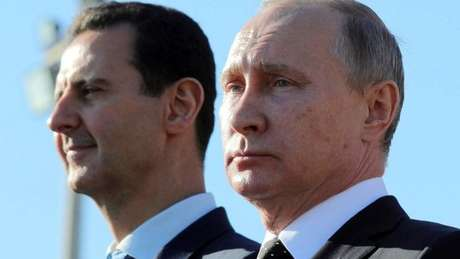 Assad se beneficiou do apoio de Putin na Síria