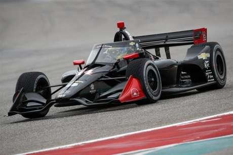 Sébastien Bourdais testou o #14 antes da temporada