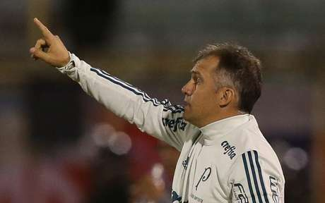 Eduardo Baptista não resistiu à pressão após perder em Cochabamba (Foto: Divulgação/Palmeiras)