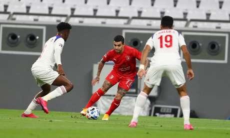Dudu foi peça chave do Al Duhail na volta da Liga dos Campeões da Ásia (Foto: Al Duhail)