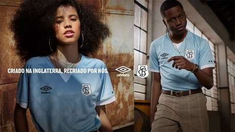 Novo uniforme do Santos tem referência ao passado do clube (Foto: Divulgação;Santos FC)