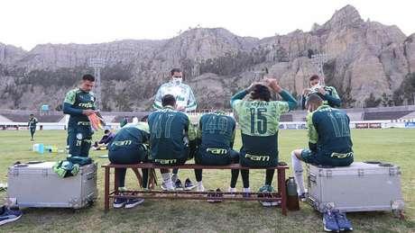 Alviverde se prepara para o segundo duelo como visitante nesta Libertadores (Foto: Cesar Greco/ Ag. Palmeiras)