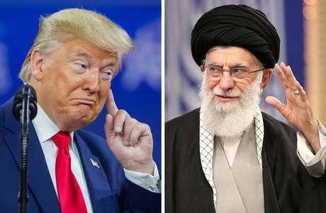 Trump e Teerã voltaram a trocar acusações públicas