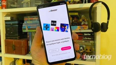 deezer app android tecnoblog