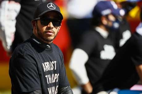 Lewis Hamilton fez a volta mais rápida do GP da Toscana