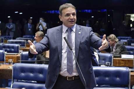 O senador Márcio Bittar, relator do Orçamento de 2021.