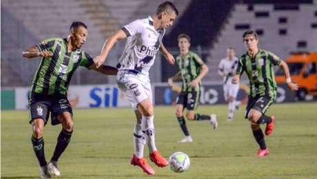 Ponte Preta sofre empate do América-MG no final do jogo pela Copa do Brasil