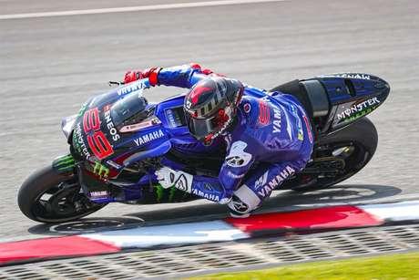 Jorge Lorenzo conquistou todos os três títulos na MotoGP com a Yamaha