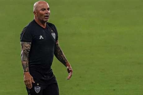 Sampaoli pediu a contratação de Thiago Neves, mas torcida fez com que clube desistisse (Pedro Souza/Atlético-MG)