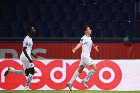 Olympique de Marseille vive grande fase no início do Campeonato Francês (FRANCK FIFE / AFP)