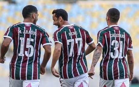 Fluminense vem de vitória contra o Corinthians pelo Brasileirão (Foto:  LUCAS MERÇON / FLUMINENSE F.C.)