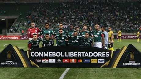 Palmeiras na Libertadores 2020 (César Greco/Palmeiras)