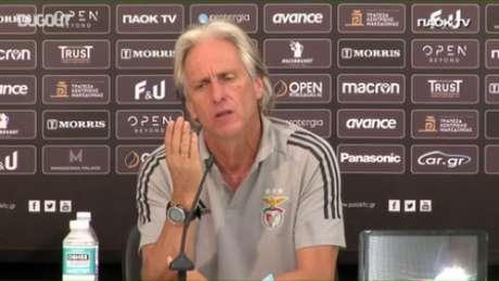Jesus sonha em ter Gerson no Benfica. Mas....(Reprodução / Dugout)