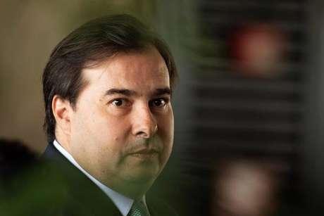 Rodrigo Maia esteve em posse de Fux, que também está com o vírus