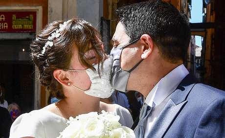 Indústria de casamentos foi duramente afetada por pandemia na Itália