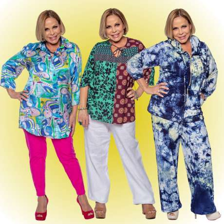 """""""Escolho a roupa de acordo com o meu estado de espírito no dia"""", diz a apresentadora"""