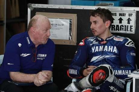 Jorge Lorenzo ia trabalhar com uma equipe comandada por Silvano Galbusera