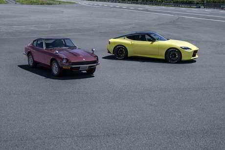 Nissan Z Fairlady original e o novo Nissan Z Proto: passo, presente e futuro.