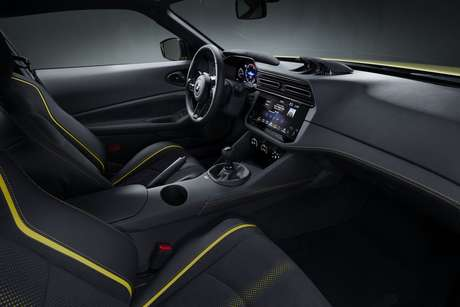 Interior moderno: ideia é oferecer o melhor em dirigibilidade.