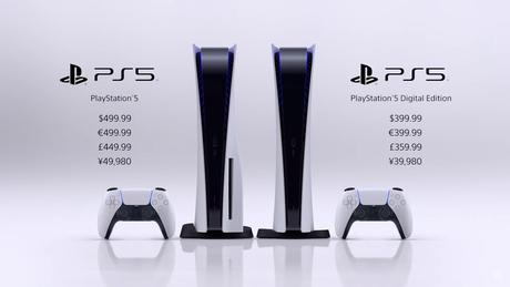 PlayStation 5 será vendido em duas versões: com e sem leitor de discos