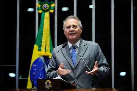 O senador Renan Calheiros (PMDB-AL)