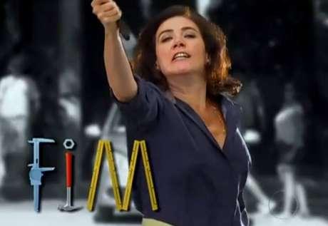 Lília Cabral (Griselda) em 'Fina Estampa'