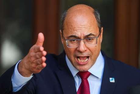 Governador afastado do Rio de Janeiro, Wilson Witzel 28/08/2020 REUTERS/Pilar Olivares