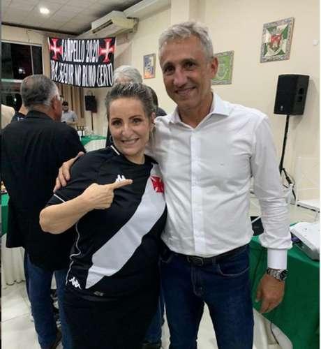 Sonia esteve presente no evento que oficializou candidatura de Campello (Foto: Reprodução)