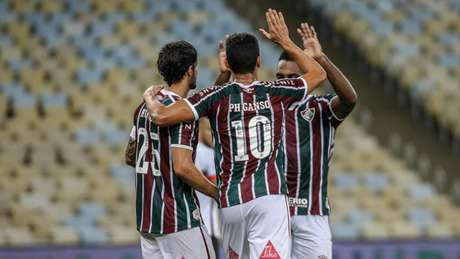 Fluminense vence o Atlético-GO pela Copa do Brasil (Foto: LUCAS MERÇON / FLUMINENSE FC)
