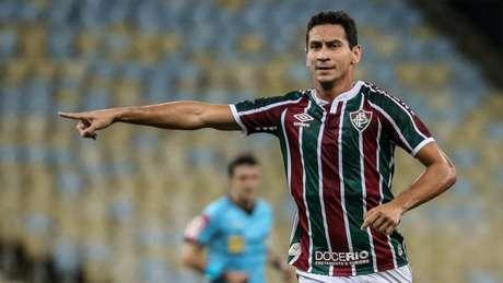 Paulo Henrique Ganso ficou pouco mais de 30 minutos em campo pelo Flu (Foto: Lucas Merçon/Fluminense FC)