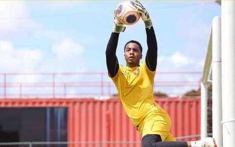 Carlos Eduardo, goleiro do Sport (Foto: Divulgação/Sport)
