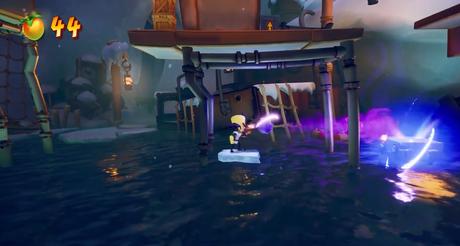 Gameplay de Cortex se concentra em dashes e na sua pistola