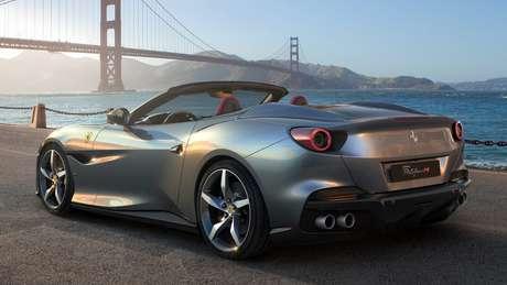 Ferrari Portofino M utiliza motor 3.9 V8 que agora tem 620 cv de potência.
