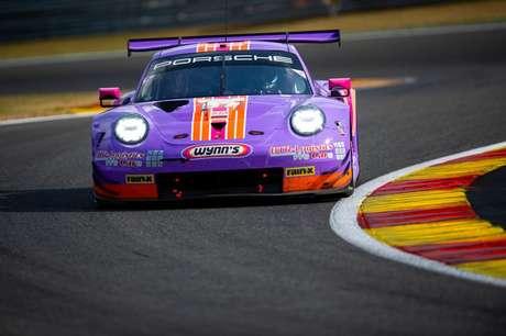 Felipe Fraga estará com o Porsche #57 em Le Mans