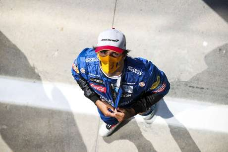 Apesar da boa posição no grid, o espanhol ficou a 0s8 do tempo obtido por Lewis Hamilton