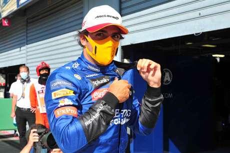 Carlos Sainz igualou seu melhor grid da carreira na F1