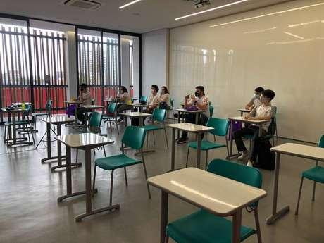 Colégio Dom Bosco informou que preparação para o retorno começou há bastante tempo.