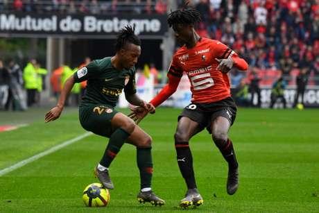 Rennes recebe o Monaco neste sábado - (Foto: DAMIEN MEYER / AFP)