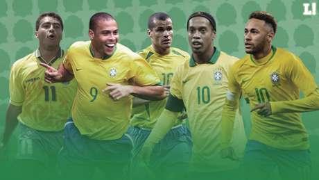 Juca Kfouri teve a missão de escolher o melhor jogador brasileiro nos últimos 30 anos (Foto: Arte/Lance!)