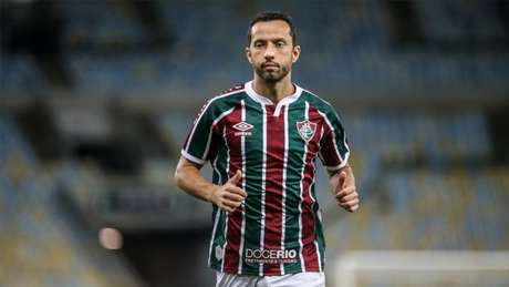 Nenê será um dos desfalques do Fluminense na partida de domingo (Foto: LUCAS MERÇON / FLUMINENSE FC)